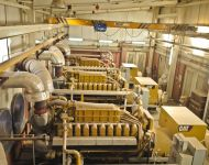 Natural Gas Power Plant 8MW #E500